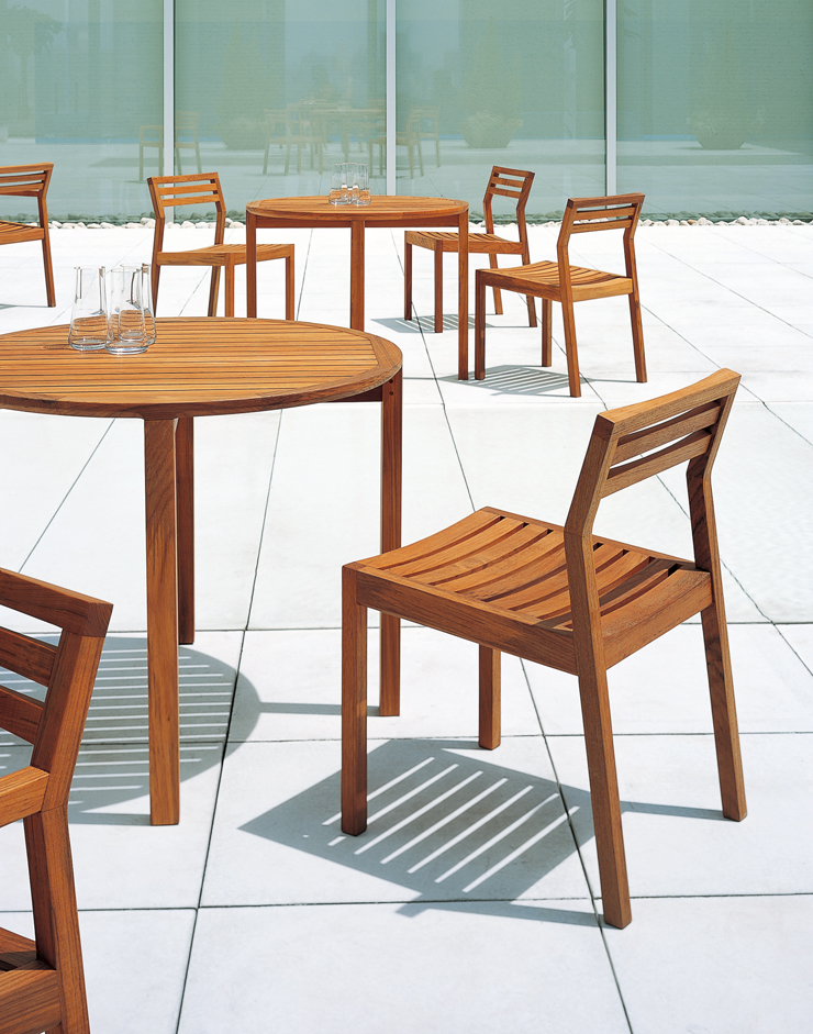PRATO chair outdoor use