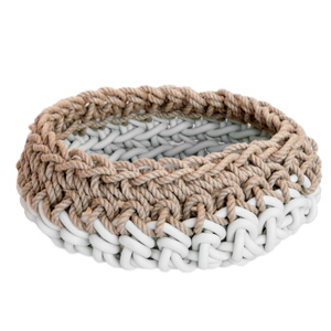 NEO(ネオ) BASKET HC19 HAND CROCHETED WHITE