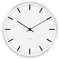 ARNE JACOBSEN - Wall Clock CityHall  シティーホール クロック 29cm
