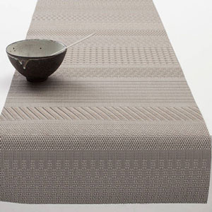 chilewich - Mixed Weave Luxe チルウィッチ ランナー(36x183cm)トパーズ