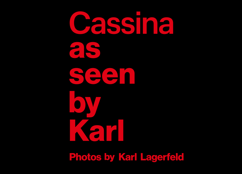 <span>2018.09.10</span>[青山本店] Cassina as seen by Karl